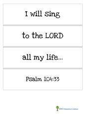 Verse strips