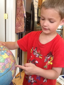 Kaleb globe