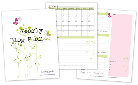 Printable Blog Planner