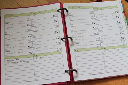Weekly Blog Planner Layout-1