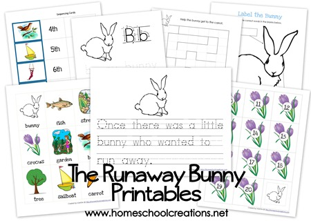 Runaway Bunny Printables