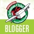 Operation Christmas Child blogger