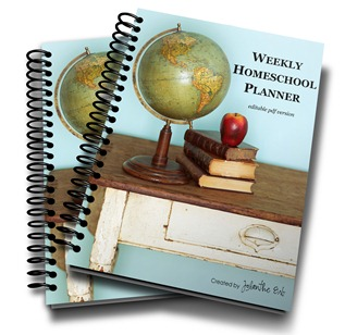 Homeschool Planner coiled