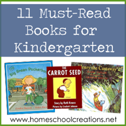 Eleven Must Read Books for Kindergarten
