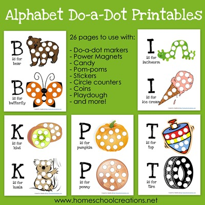 Alphabet Do a Dot Printables