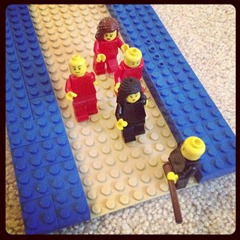 Crossing the Red Sea Legos