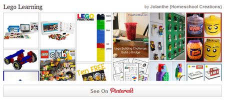 Lego Learning on Pinterest