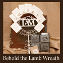 Behold the Lamb wreath