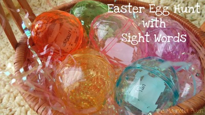 Easter Egg Word Hunt