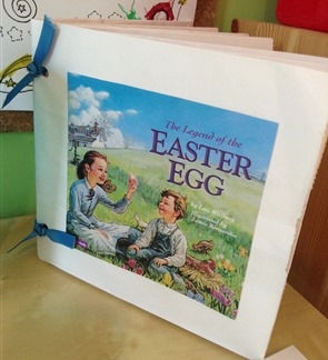 Legend of Easter Egg Bag Book