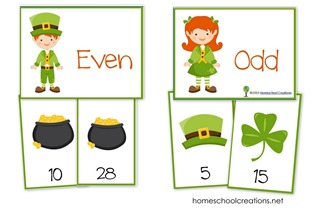 St Patricks Day Math Printables