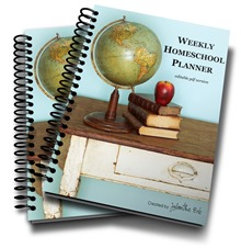 Homeschool Planner coiled