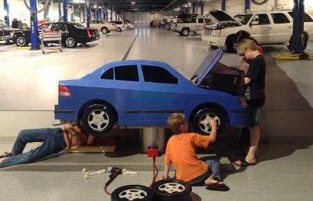 mechanics at the children's museum