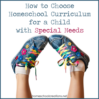 How to Homeschool Children with Special Needs