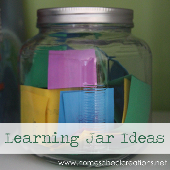 Learning Jar Activities