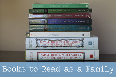 Books to Read Together as a Family