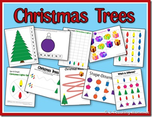 Christmas Printables - Christmas Trees