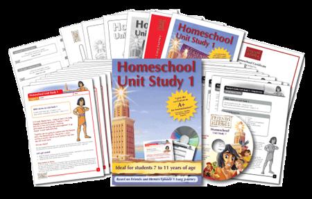 Friends and Heroes Homeschool Unit Study