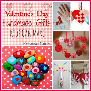 Valentine's Day gifts kids can make