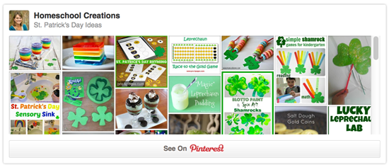 St Patrick's Day pinterest board