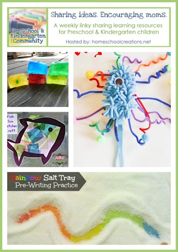 Preschool and Kindergarten learning ideas