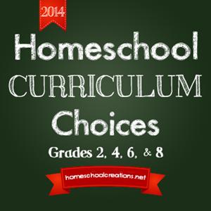 Homeschool Curriculum Choices 2014