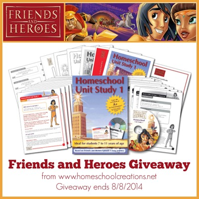 Friends and Heroes Giveaway