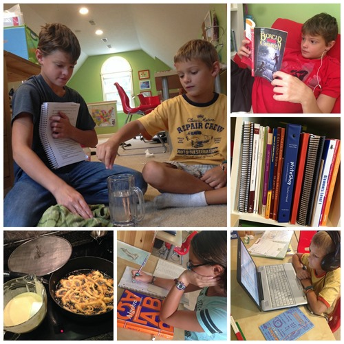 Homeschool Collage 1
