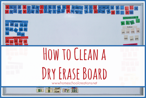 How to Clean a Dry Erase Board naturally