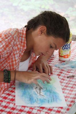 Shark Chalk Pastels art time-6