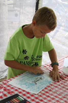 Shark Chalk Pastels art time-9