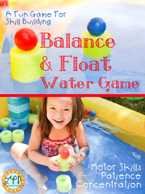 Water play Balance Ping Pong title1