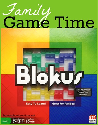 Blokus board game for family game time