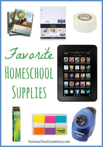 Homeschool Supplies We Love