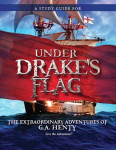 Under Drakes Flag study guide cover