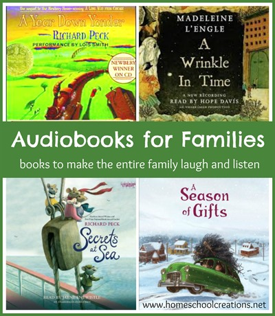 Audiobooks for Families to enjoy