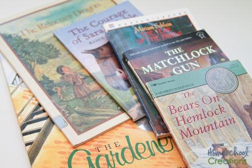 3rd grade homeschool reading list choices from Homeschool Creations-4