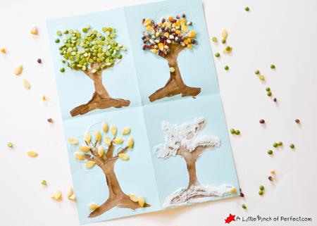 4 Seasons Nature Tree Art_A Little Pinch of Perfect 6 copy