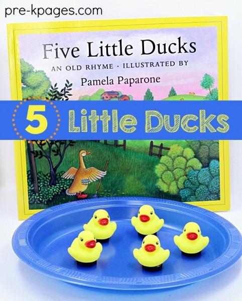 5-Little-Ducks-Activity-for-Preschool