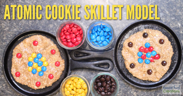 Atomic cookie model - a fun, hands-on way to learn about atoms and the periodic table