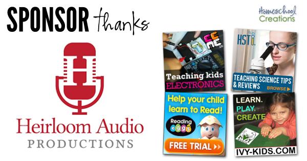 Companies to Thank Homeschool Creations 9-16