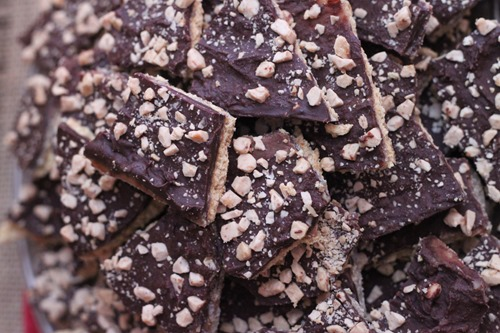 Graham Toffee Crunch Treats-12