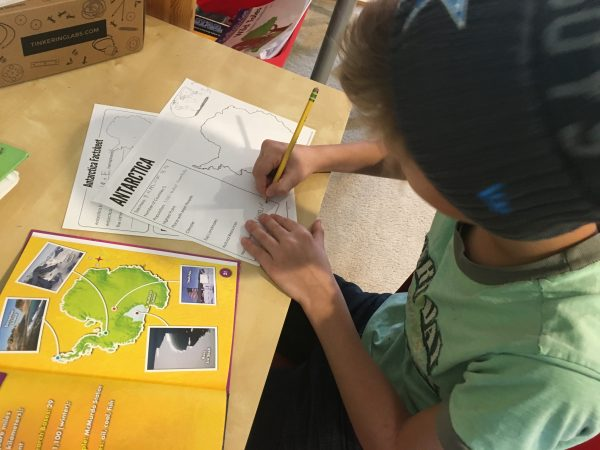 Antarctica homeschool printables