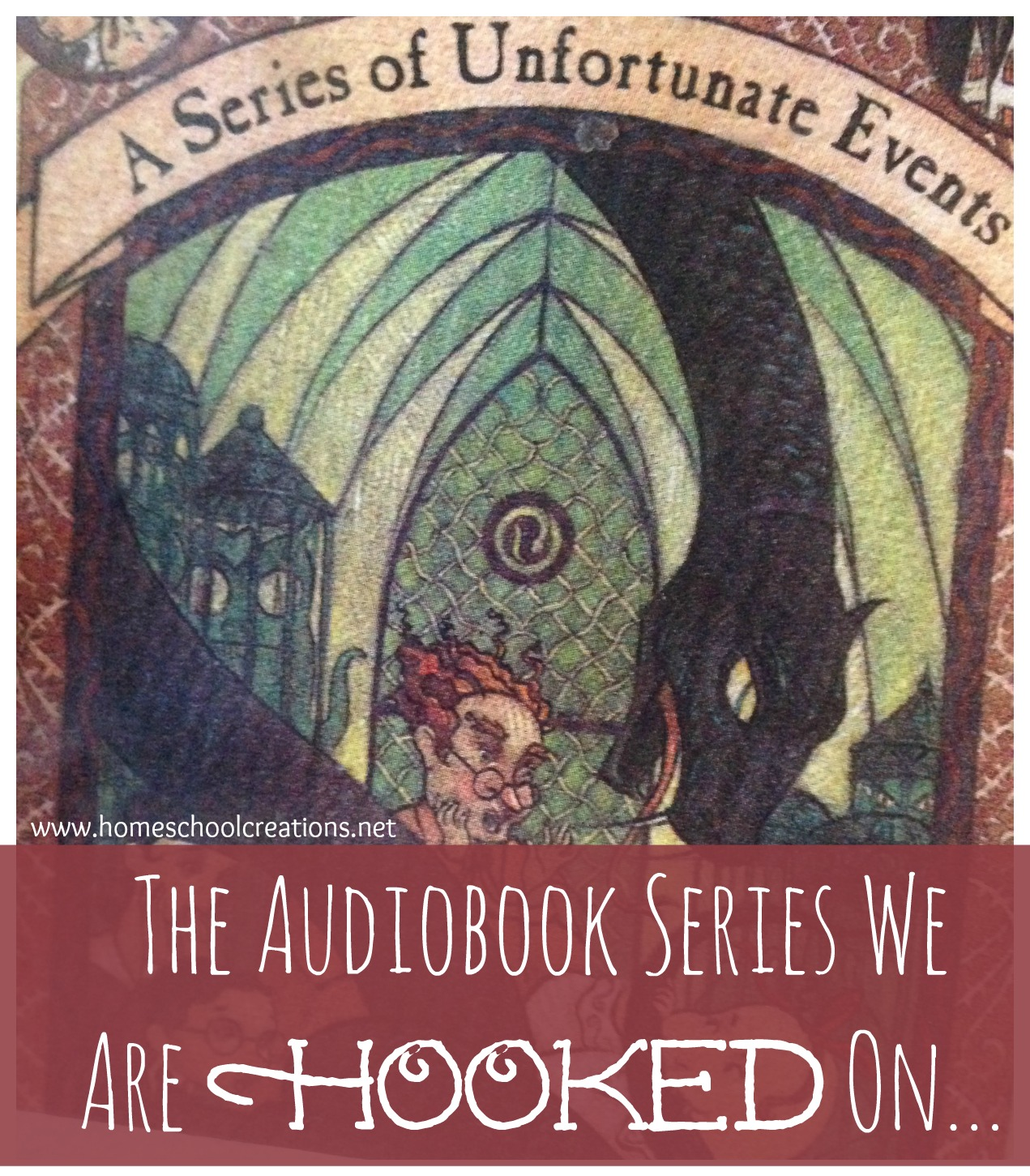 Lemony Snicket audiobook series
