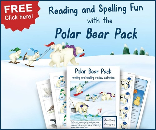 Polar Bear Reading and Spelling Pack