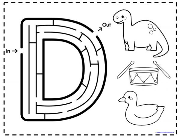 Alphabet Mazes Letters E. Alphabet Mazes Letters E. Worksheet. Learning How To Read Worksheets At Mspartners.co