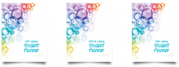 Student Planner circles