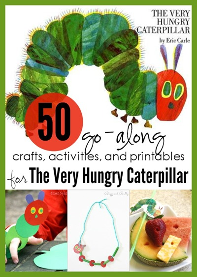 Very Hungry Caterpillar crafts activities and printables