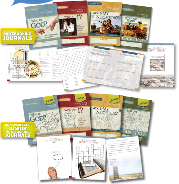 What We Believe series from Apologia - Biblical worldview curriculum
