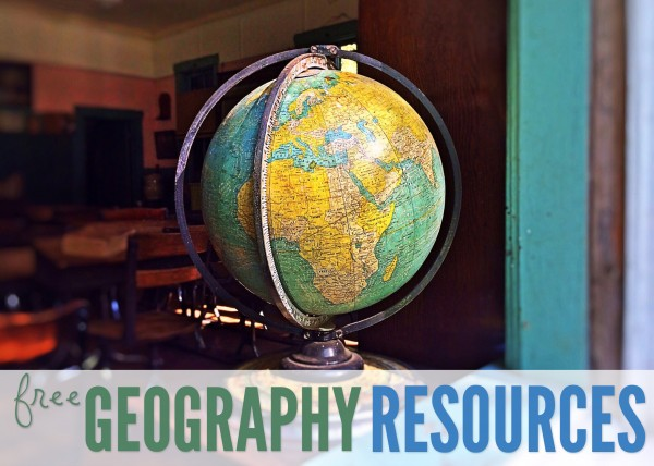 free geography resources